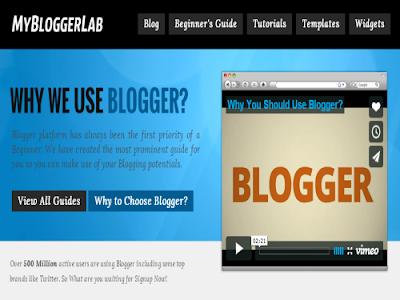 MBL Premium Blogger Template