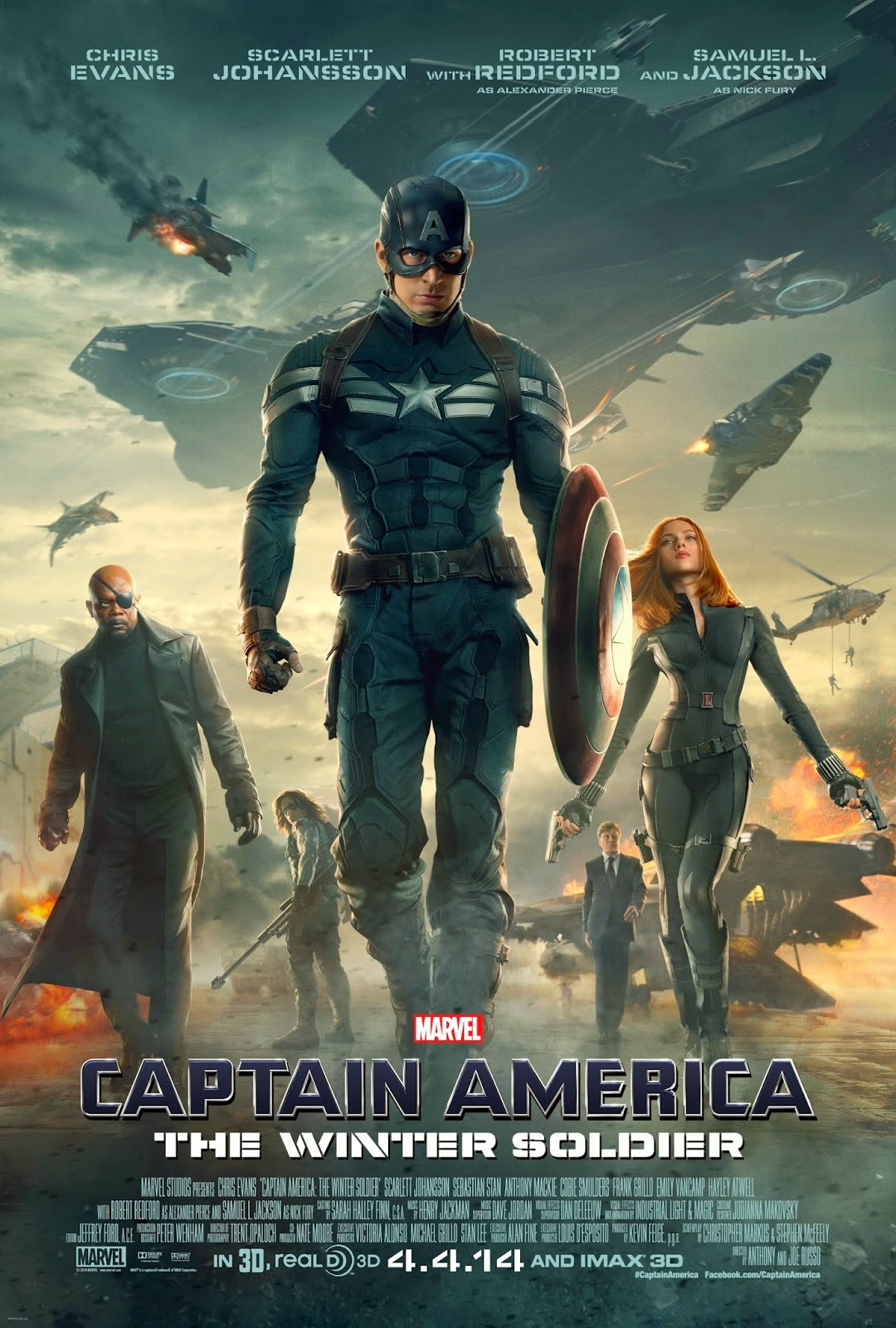 Download Film Captain America 2 (2014) Subtitle Indonesia