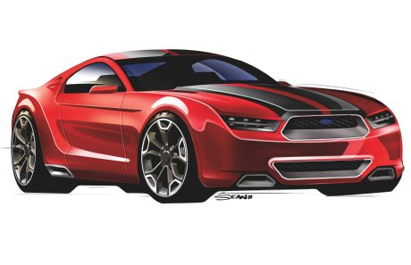 Progressive Values  Ford Mustang 2015