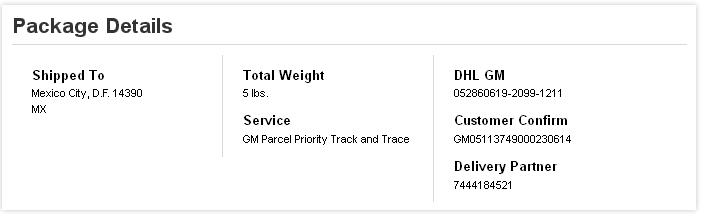 as It should be to Express Myself: DHL Global Mail