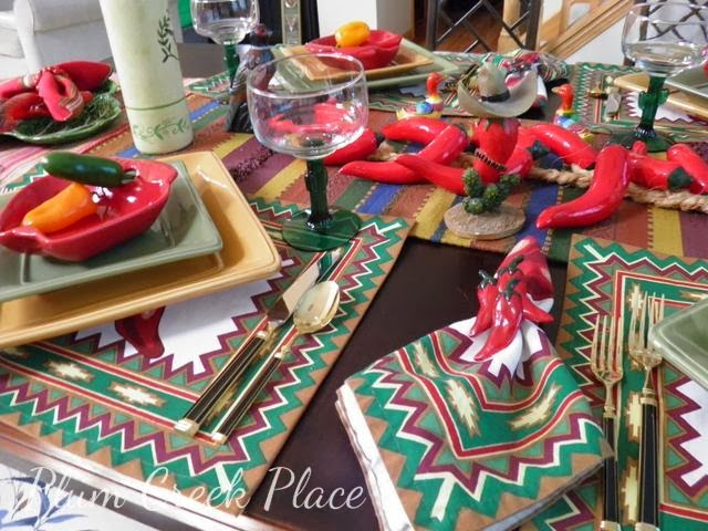 Cinco da Mayo tablescape