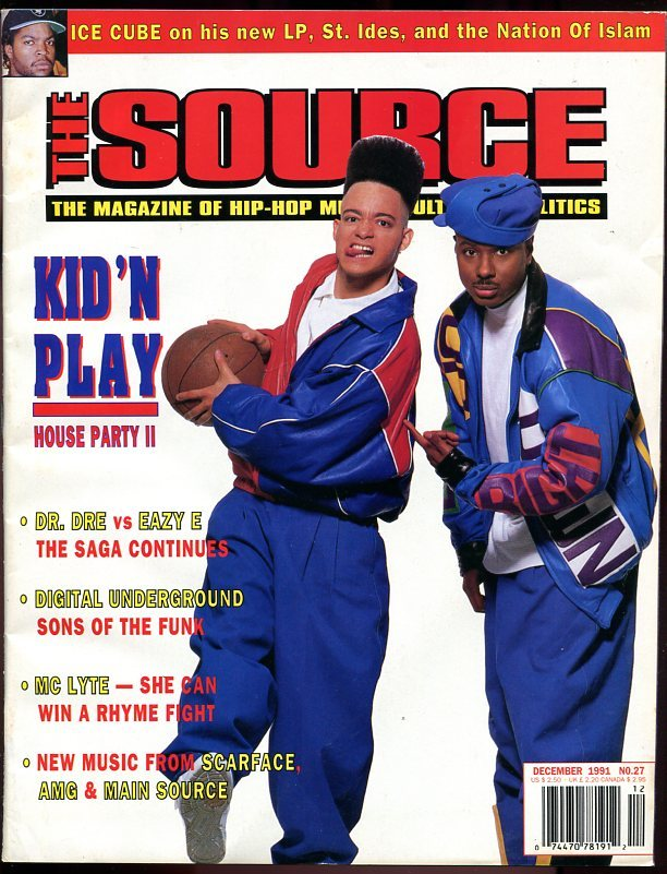 Source Magazine December 1993 Issue#51 A Tribe Called Quest Cover used in Shrink