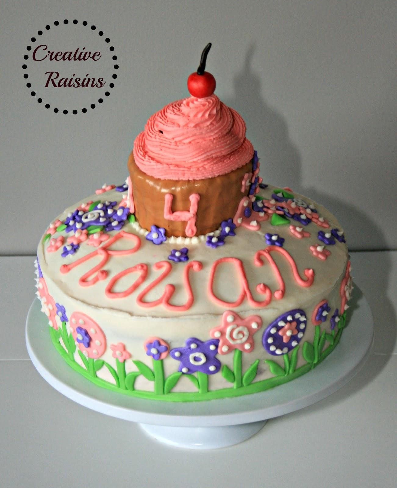 Pinkalicious Cake Images : Creative Raisins: Pinkalicious Birthday Cake