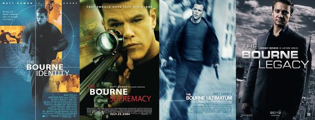 Download The Bourne (2002 – 2012) 720p Bluray Subtitle Indonesia