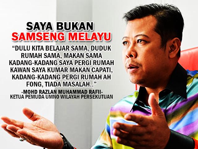 """""""Saya Bukan Samseng Melayu"""" - Razlan Rafii"""