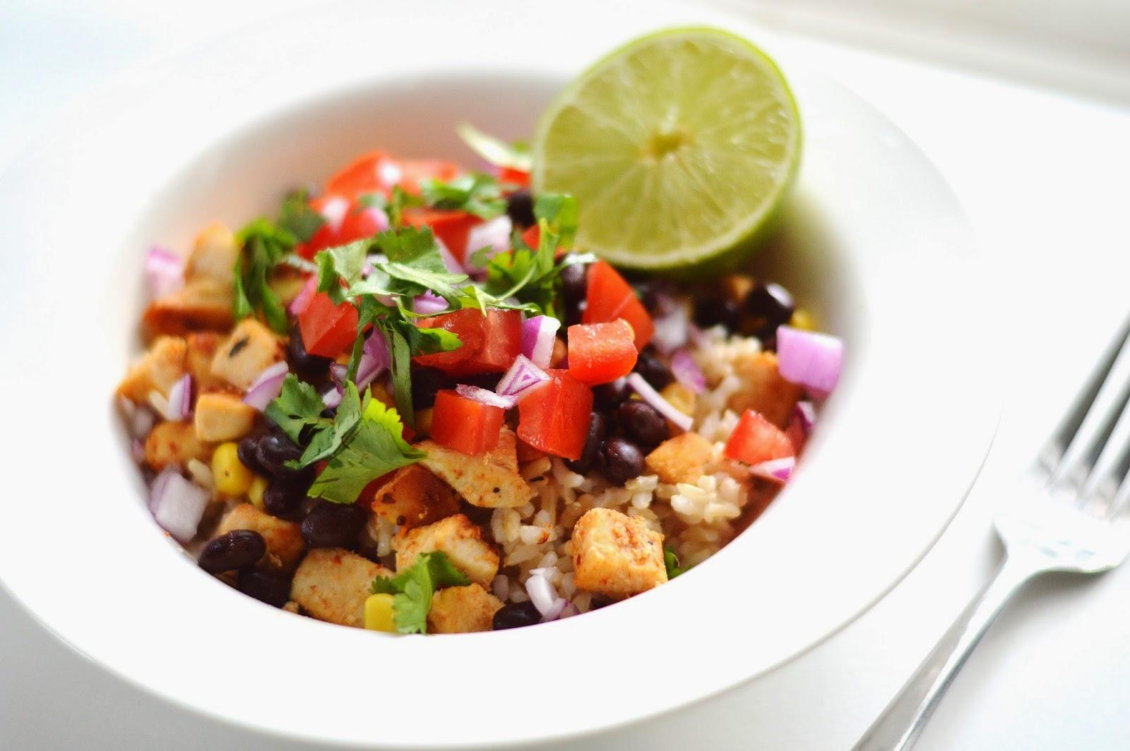 The Art of Comfort Baking: Chicken Burrito Bowls