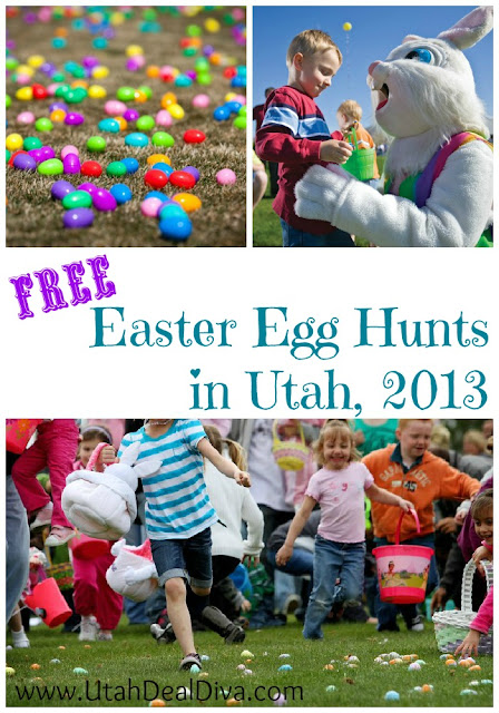 Free Easter Egg Hunts in Utah 2013
