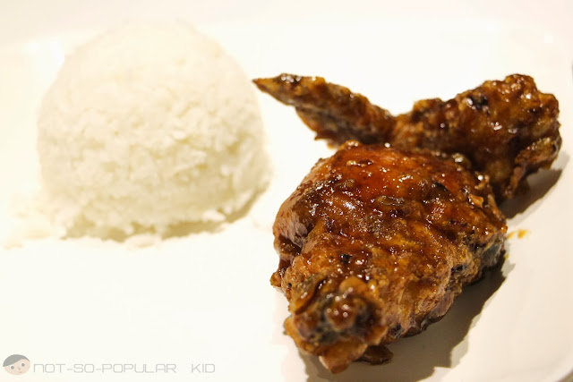 Signature Jus and Jerry's Fried Chicken in EGI Taft
