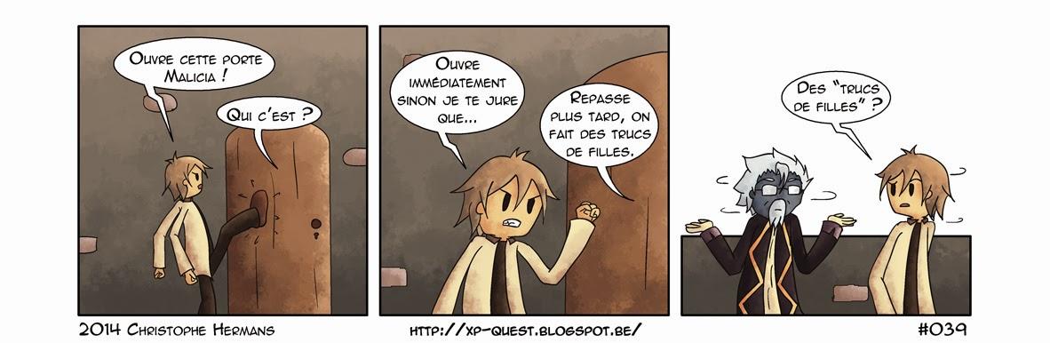 XP Quest  Webcomic  français  BD  bande dessinée