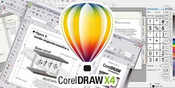Mengaktifkan CorelDRAW X4 Life Time