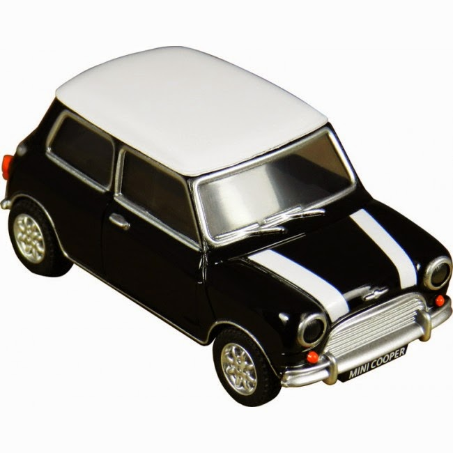 Memoria USB Mini Cooper Negro 4 GB