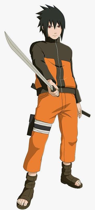 Naruto Storm Revolution Collector's Edition Sasuke in Naruto Costume