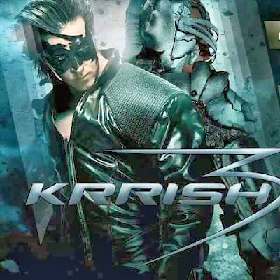 Brand New Poster of Krrish 3 Movie