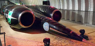 Thrust SSC - Fastest car in a shed