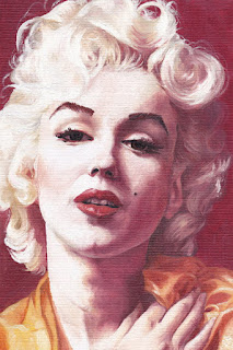 Marilyn Monroe Ilustraciones Dibujos Atisticos