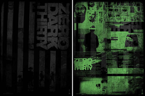 poster: Zero Dark Thirty - design de Godmachine