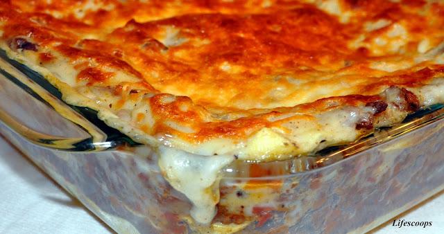 Life Scoops: Lasagna Al Forno
