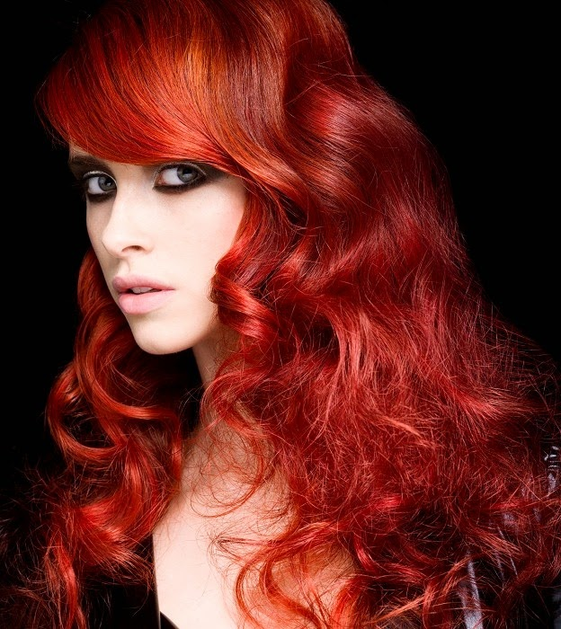 dark red hair dye on black hair}