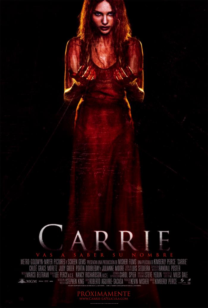 Póster oficial de Carrie