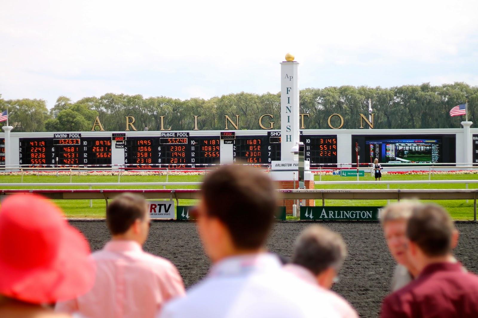 Arlington, race, track
