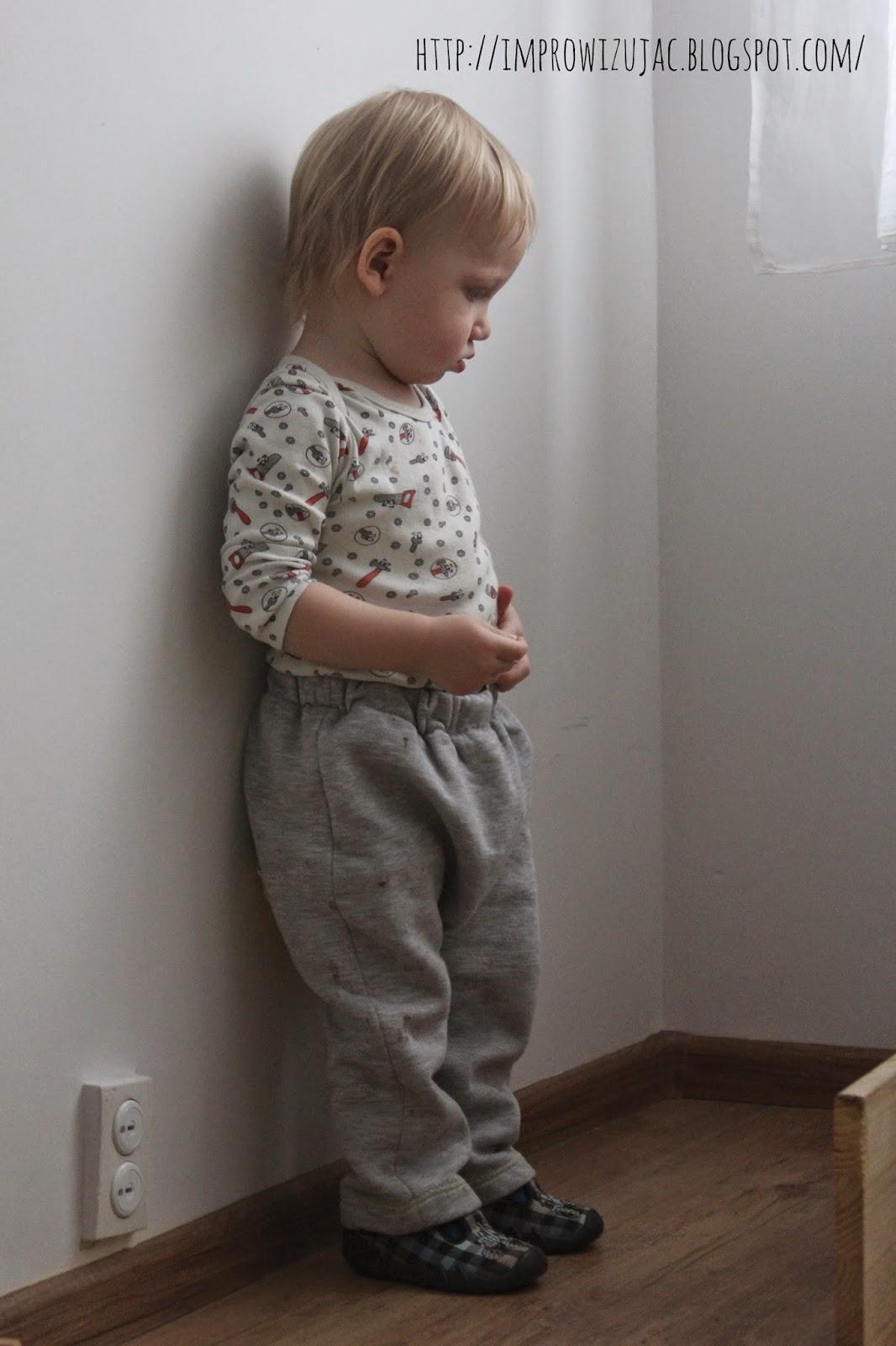spodnie dresowe zimowe