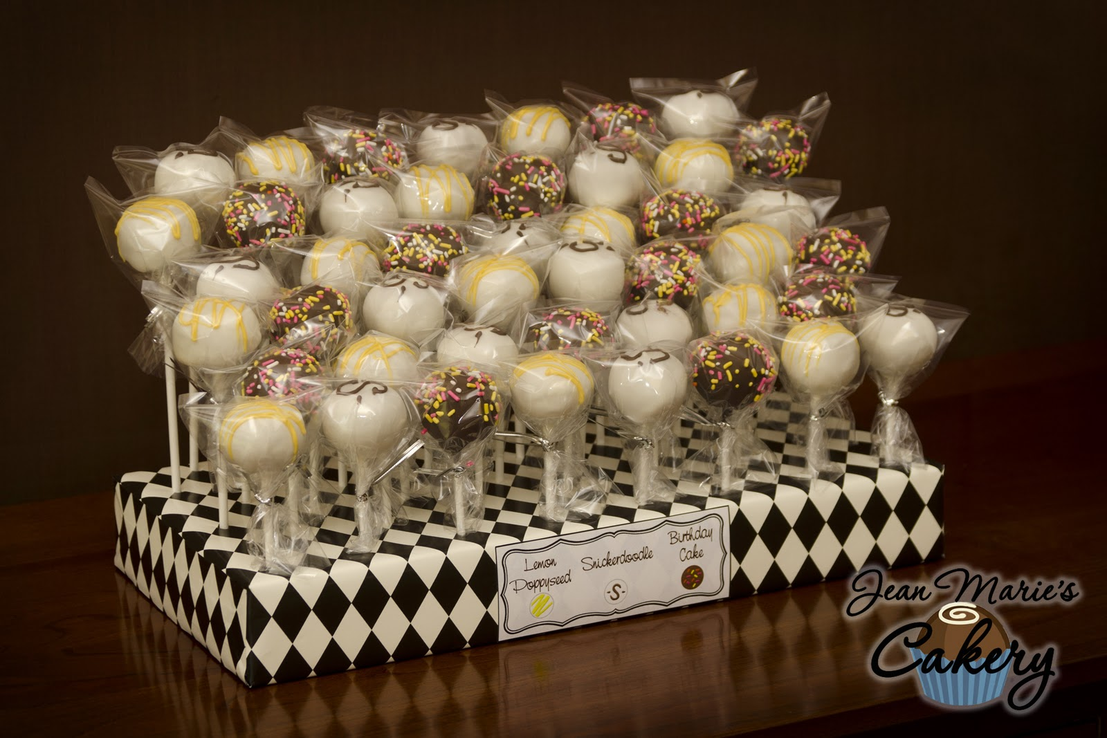 Jean Maries Cakery Birthday Cake Pops