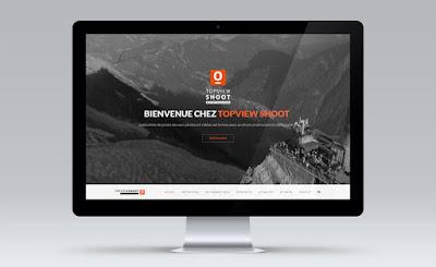 création site internet drone