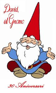 """30 Aniversario de la serie """"David el Gnomo"""". Domingo 8 Nov. 15 horas. Auditorio"""