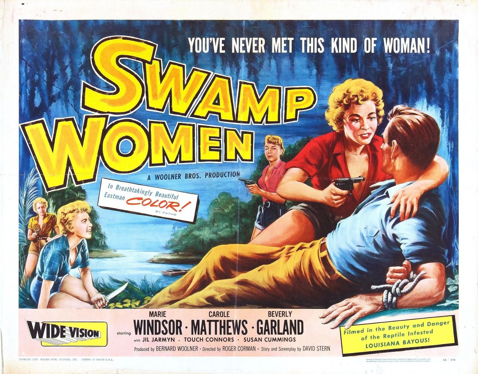 Swamp Women Just Screenshots Swamp Women 1955