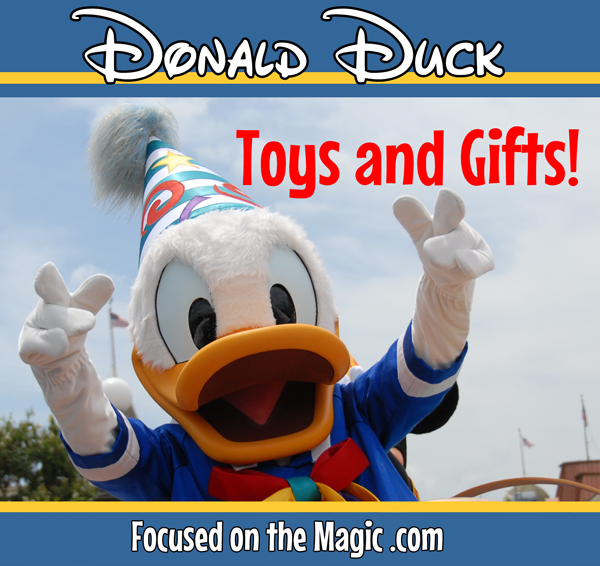 Toys and Gift Ideas for a Donald Duck themed party