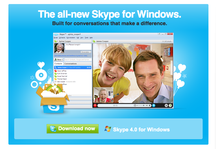 how to  skype software on pc