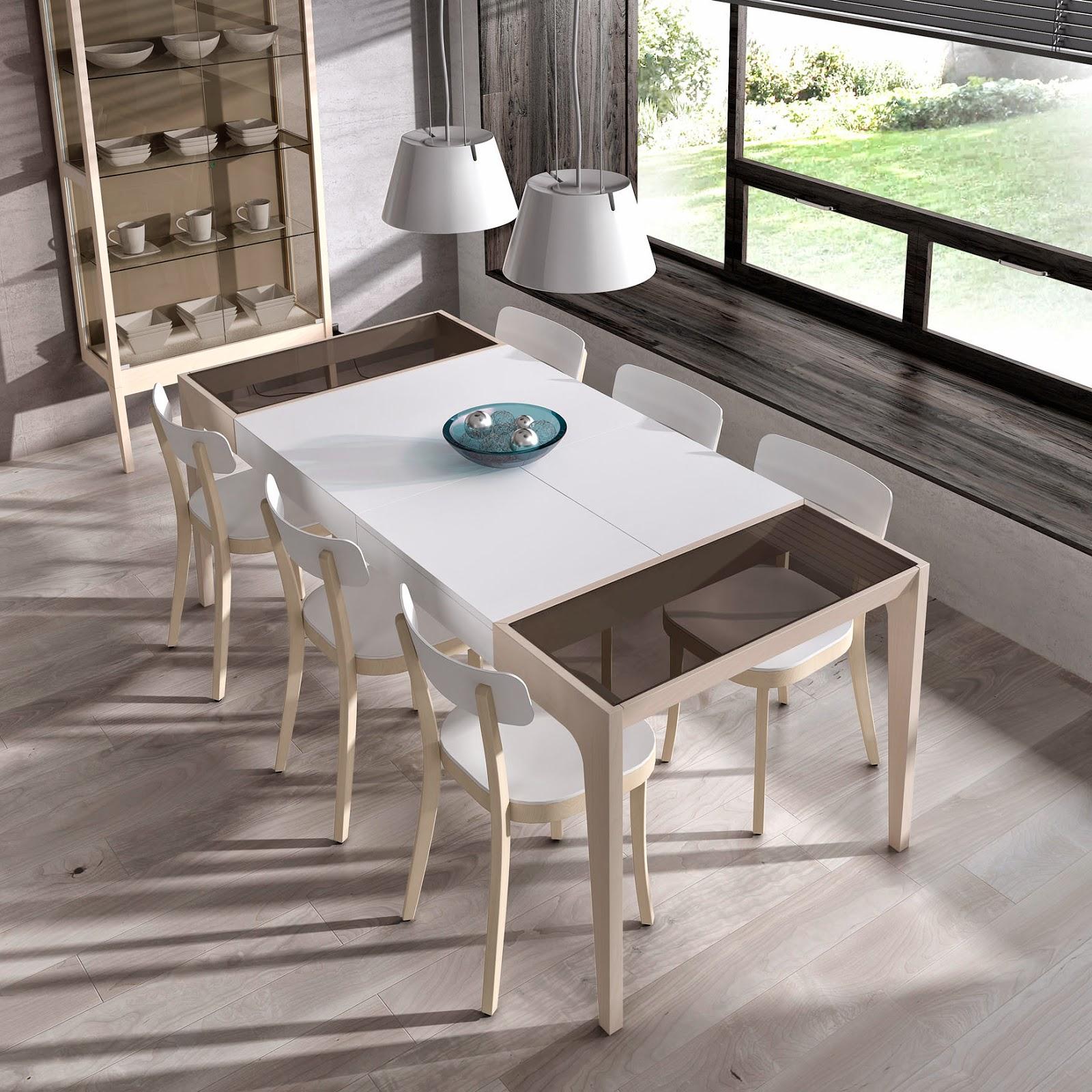 Arte h bitat tu tienda de muebles mesa de cristal exact for Piferrer muebles catalogo