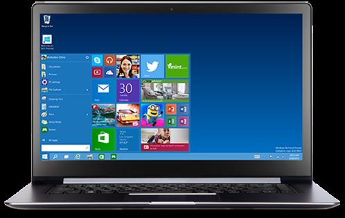 تعرف علي أهم مميزات ويندوز 10 وتحميل النسخة التجريبية من النظام مجاناً Windows 10