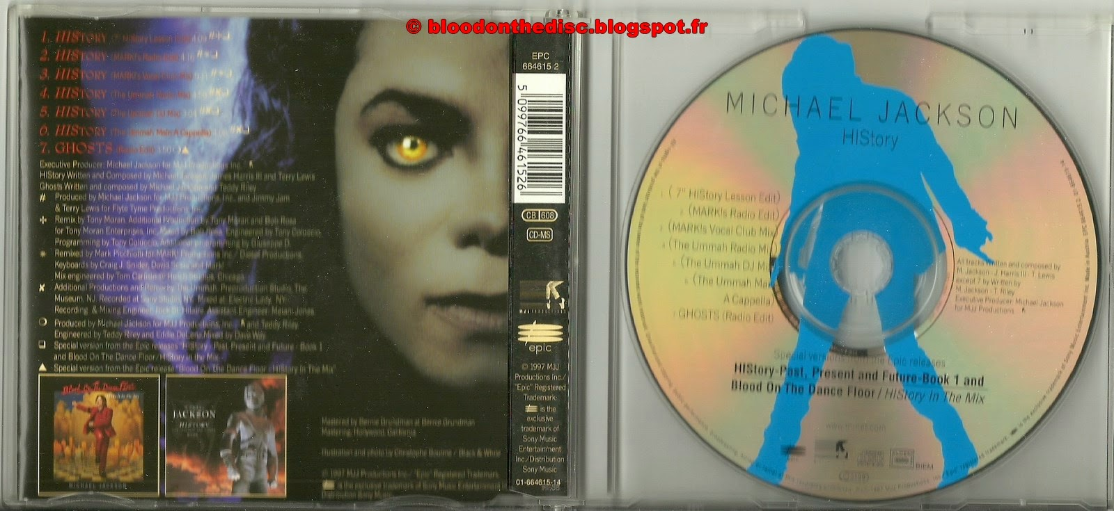 History / Ghosts Maxi CD