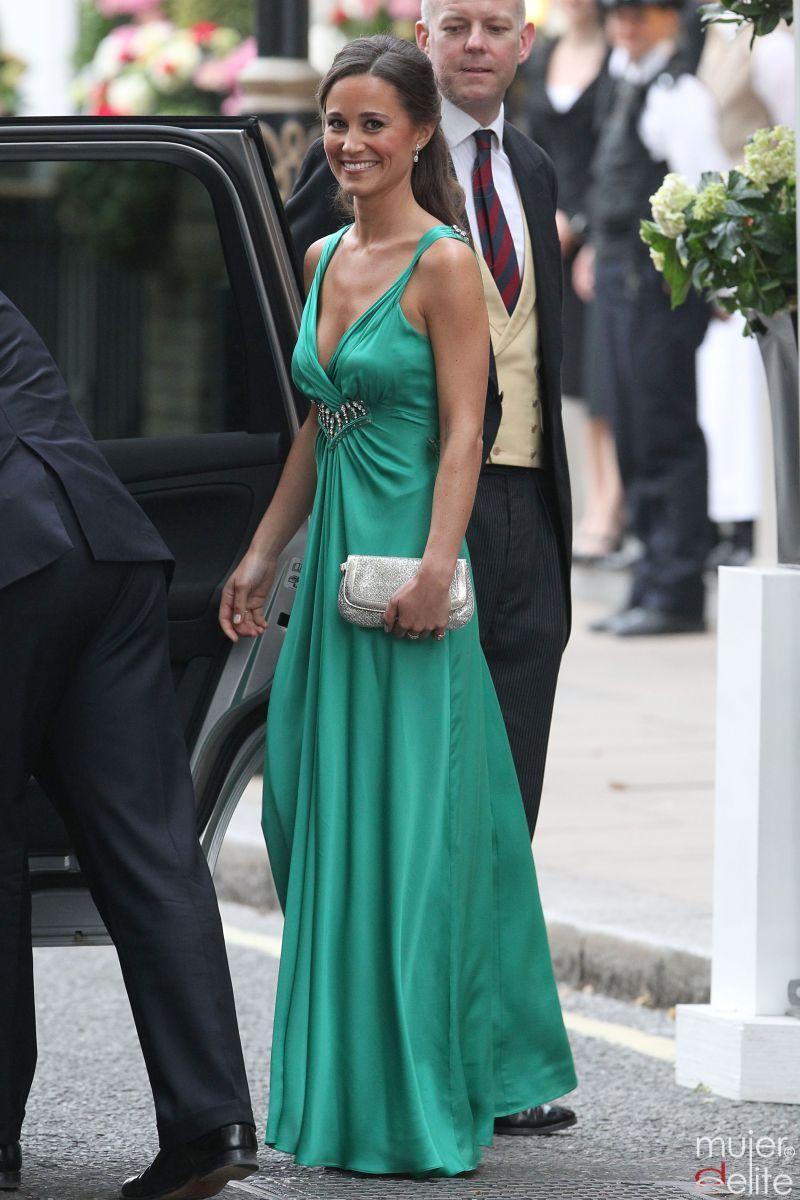 Chal para vestido verde menta