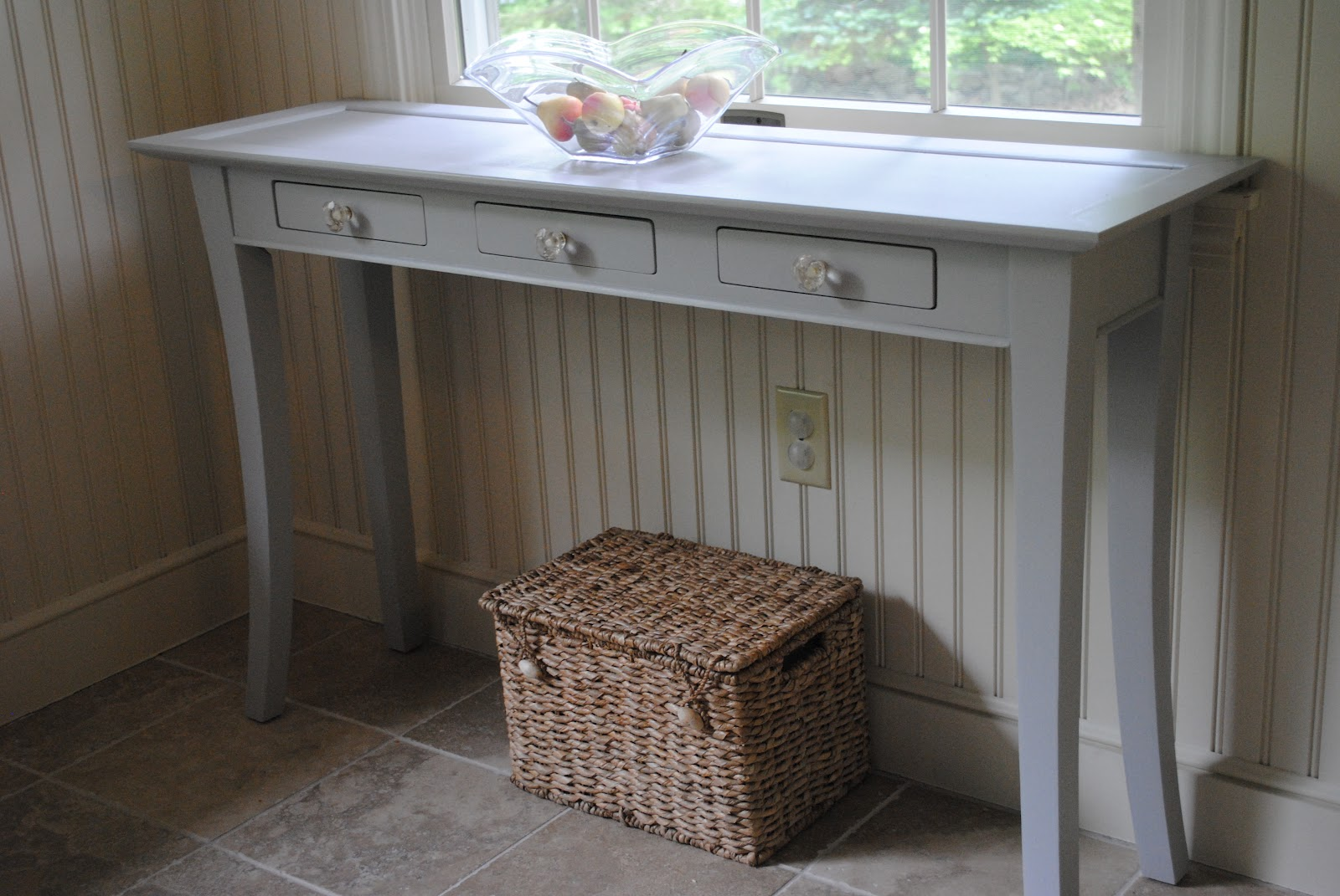 Wooden Console Table Refinish The Chronicles of Home