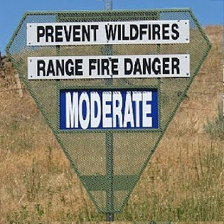 FIRE DANGER IS...
