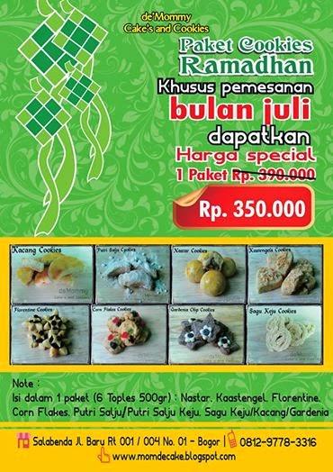 Promo Cookies Ramadhan 2014