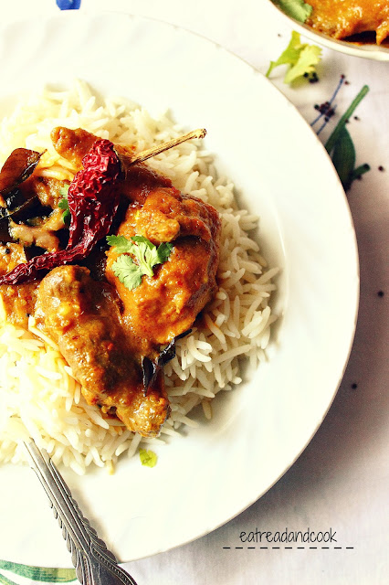 How to cook Kerala Coconut Chicken Curry