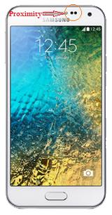 Proximity Sensor On Samsung Galaxy E5