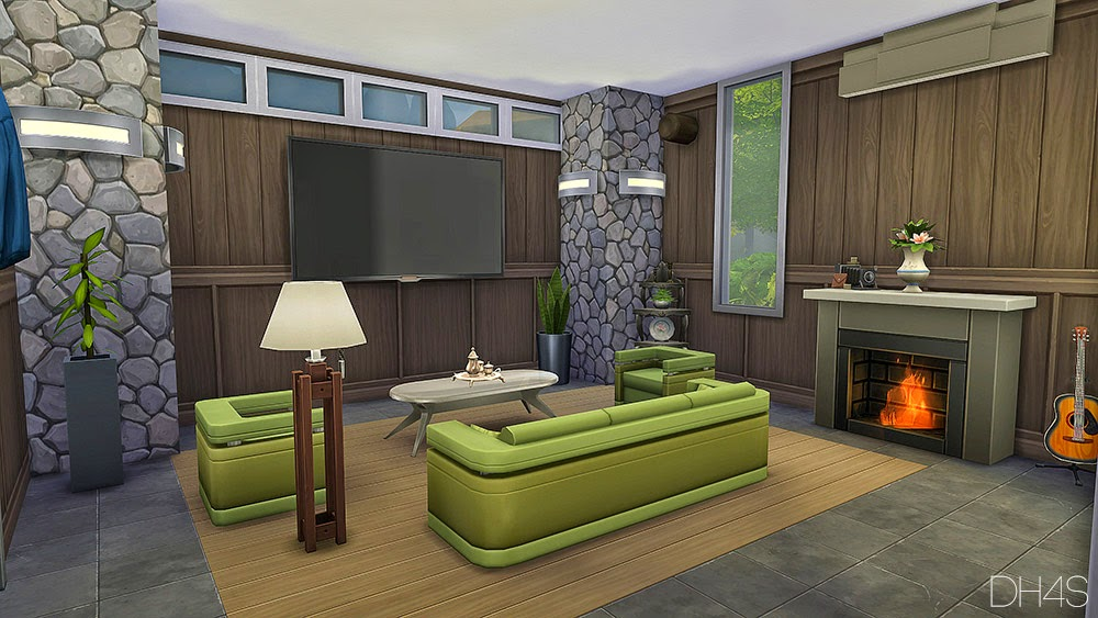 My sims 4 blog modern classic livingroom by samuel for Sims 3 living room ideas