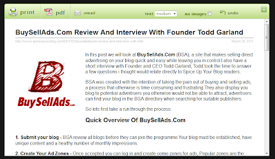print preview buysellads interview