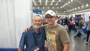 With Stan Sakai, Usagi Yojimbo