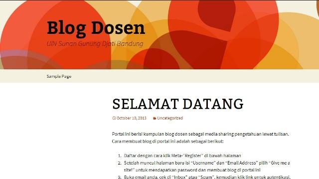 blog dosen