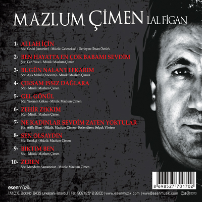 Mazlum Cimen 2013