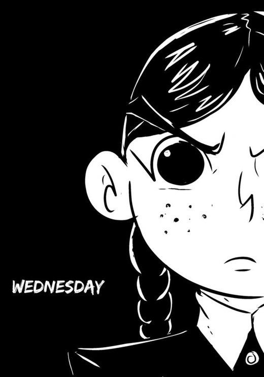 Wednesday Addams por kross29