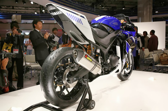 Kumpulan Foto Yamaha R25, Sang Primadona TMS 2013