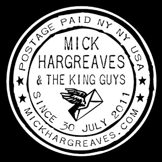 Mick Hargreaves & The King Guys - Official Sticker