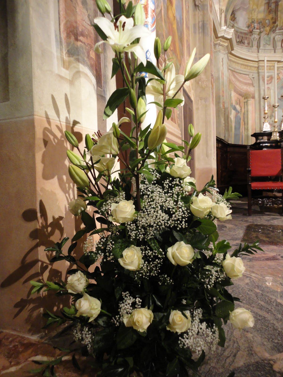 Favorito Arte Floreale per la Liturgia: Foto dell'addobbo realizzato in  VX89