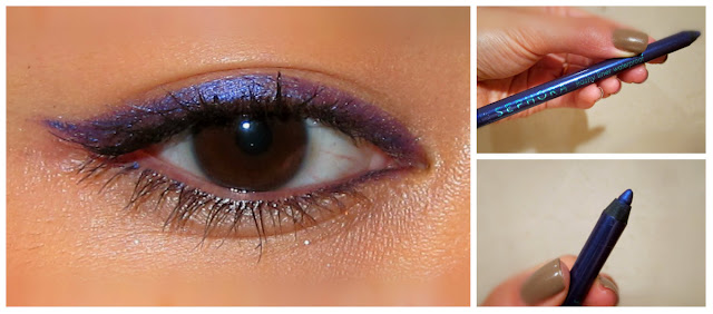 Sephora Flashy Liner Waterproof, cor Flashy Violet 13, makeup, maquilhagem, eye pencil
